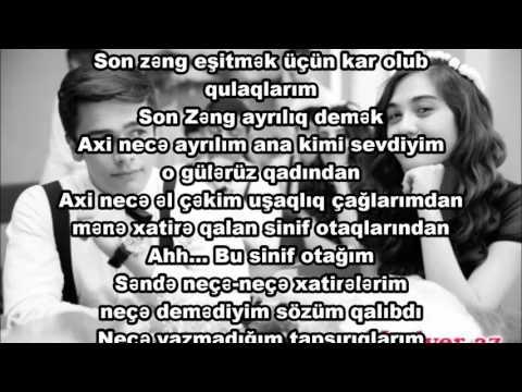 Mohtesem Son Zeng Seiri 2017 Senuber Quliyeva Youtube