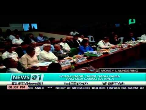 [NEWS@1] World Bank, dapat nang isama ang mga Casino sa AMLA (04-12-16) [04|12|16]