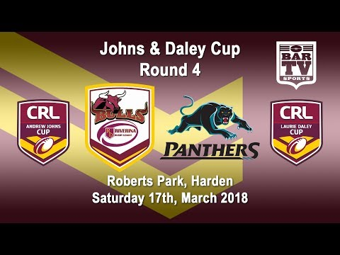 2018 CRL - Andrew Johns and Laurie Daley Cups - Round 4 - Riverina Bulls v Penrith Panthers