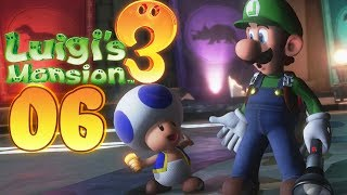 Luigi's Mansion 3 - Walkthrough #06 - The Rescue of the Toad!