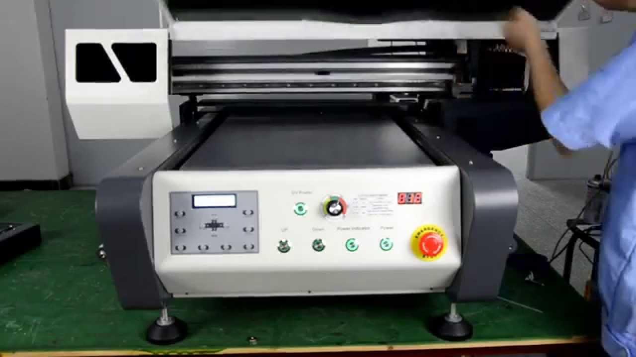 Newest Digital Flatbed LED UV Printer-APEX UV6090 - YouTube 5246ad647e