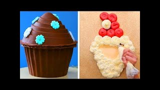 How To Make A BIG CHOCOLATE CUPCAKE Decorating Video 2018! Top 15 Amazing Chocolate Cake Ideas Video