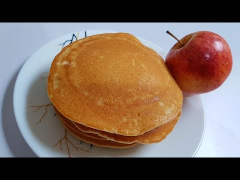 Apple Pancakes recipe || for kids & Elders; tasty & simple recipe