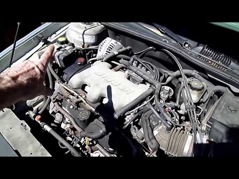 How To Install Replace Engine Coolant Temperature Senso ...