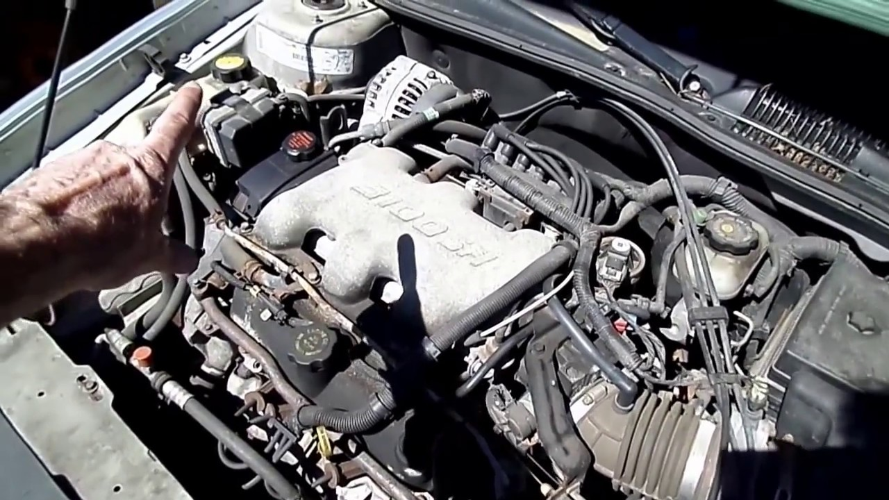 small resolution of gm 3100 3400 3500 engine coolant temp sensor replacement youtube 2000 pontiac montana engine diagram coolant sensor