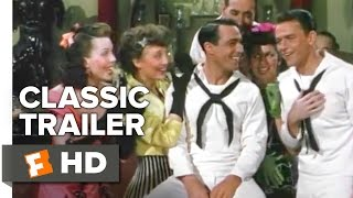 On the Town Official Trailer #1 - Frank Sinatra Movie (1949) HD