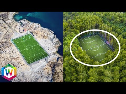 7 Of The Most Bizarre Football / Soccer Stadiums In The World