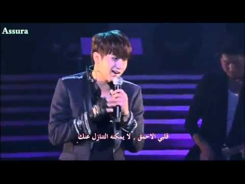 Heo Young Saeng (SS501) - Find  (Overjoyed Concert ) [Arabic Sub]