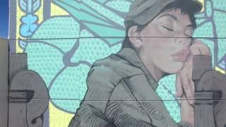 Bezt mural at Life is Beautiful 2016. - Las Vegas, NV. thumbnail