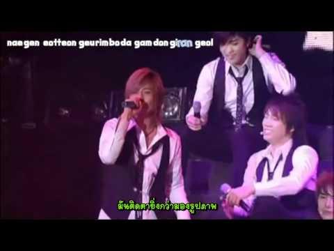 [Thaisub+Engkaraoke] Hana - SS501 (live)