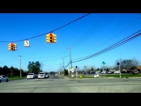 Driving from Macomb, Michigan to Charter Township of Oakland, MI