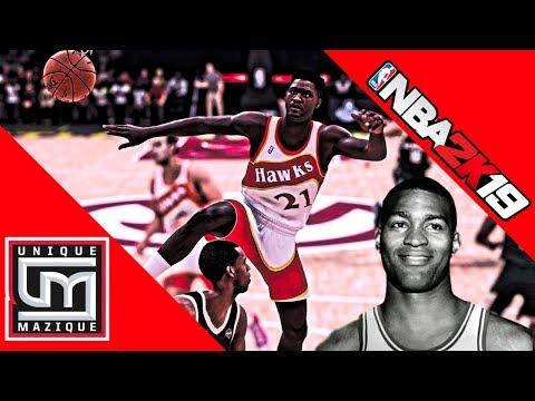 NBA 2K19   Legends Roster   All Time Atlanta Hawks Coming Along