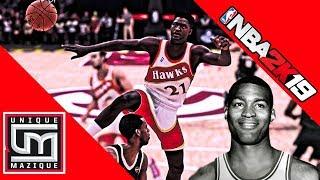 NBA 2K19 | Legends Roster   All Time Atlanta Hawks Coming Along