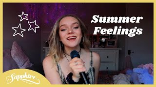 Download Lagu Summer Feelings - Lennon Stella feat Charlie Puth cover Sapphire MP3