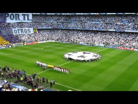 Real Madrid Barcelona UEFA Champions League anthem