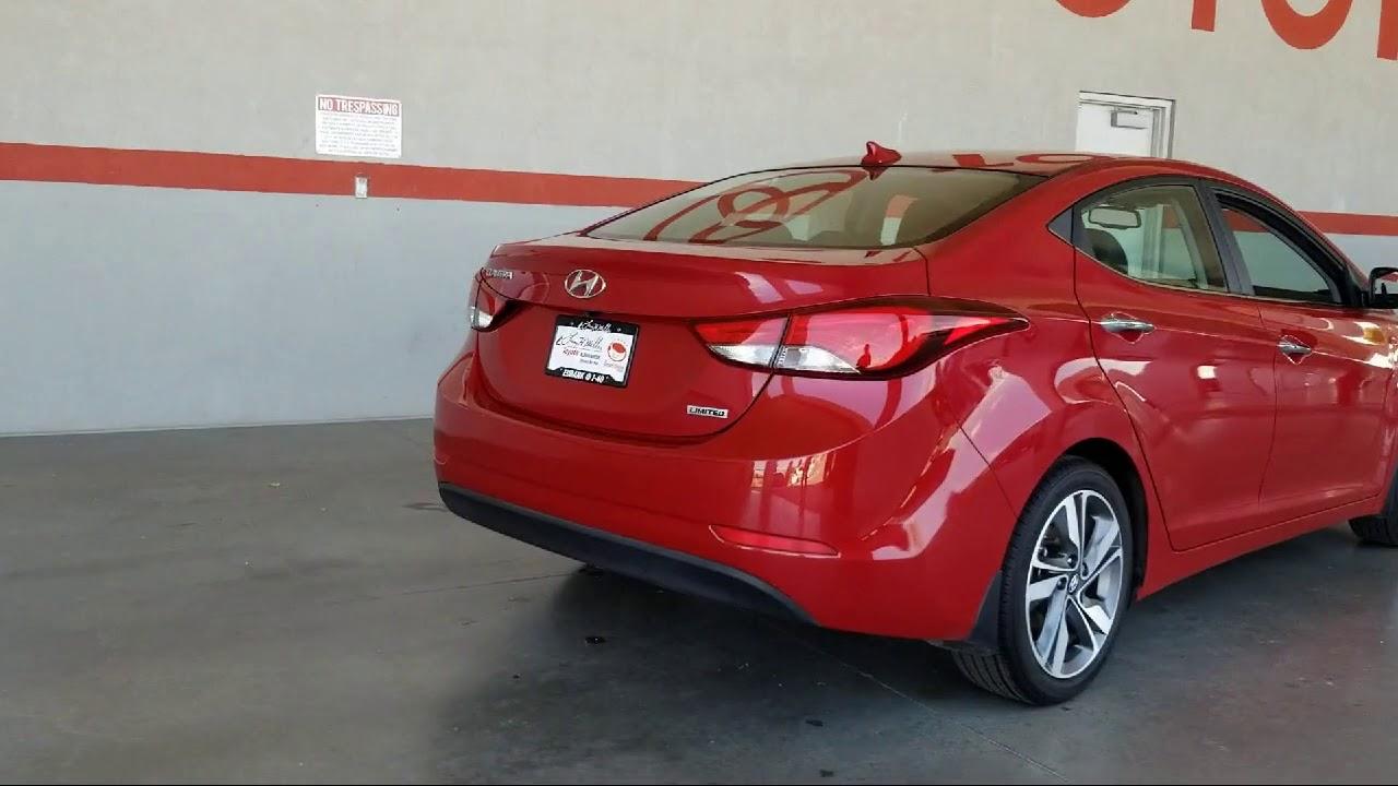 Hyundai Las Cruces >> 2016 Hyundai Elantra Limited Albuquerque Las Cruces El Paso Santa Fe Farmington Roswell