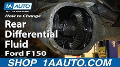 2002 f150 rear differential fluid change