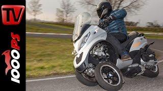 Piaggio MP3 500ie LT Sport Test | Fahreigenschaften, Stauraum, Fazit