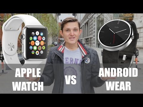 In-Depth Review - Apple Watch vs Android Wear