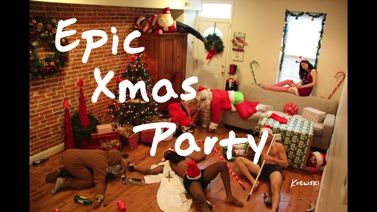All I Want For Christmas (Epic Xmas Party) - YouTube
