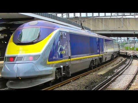 Class 373 Eurostars At Ashford International - Saturday 13th May 2017