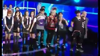 Video BLACKPINK and IKON Together @Show Music Core download MP3, 3GP, MP4, WEBM, AVI, FLV Januari 2018