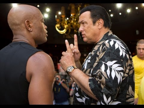 UFC 148: Steven Seagal Taught Anderson Silva Special Moves That We Once Thought Were Illegal