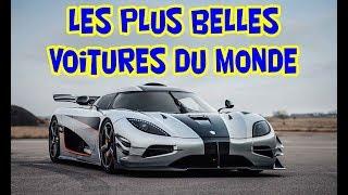 TOP 10 - LES PLUS BELLES VOITURES DU MONDE