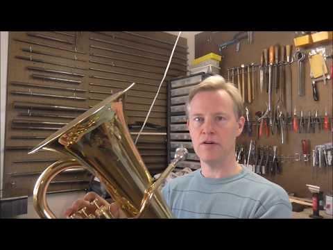 Common Valve Problem, Easy Repair on Yamaha Euphonium
