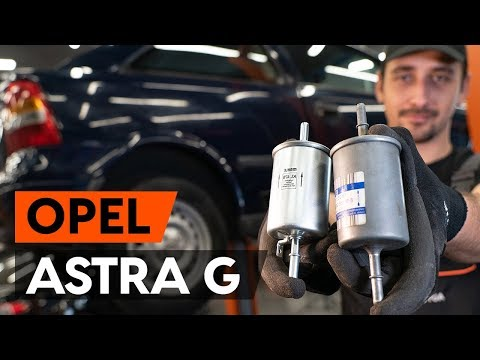 How To Replace Fuel Filter OPEL ASTRA G CC (F48, F08) [TUTORIAL AUTODOC]