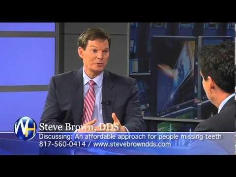 Steve Brown, DDS - Dental Implant Advances Dallas, Texas with Randy Alvarez