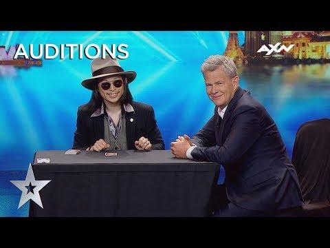 MUST SEE Magician Takumi Takahashi's Sleek Sleight Of Hand | Asia's Got Talent 2019 on AXN Asia