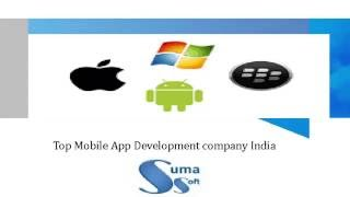 Top Mobile app Development company india Suma Soft