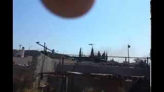 Ελικόπτερο σε φωτιά.  helicopter helps on fire in Koropi