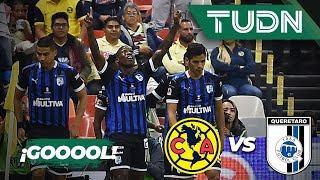 ¡Goool de Fabián Castillo! | América 0 - 1 Querétaro | Liga Mx - AP 19 - J10 | TUDN