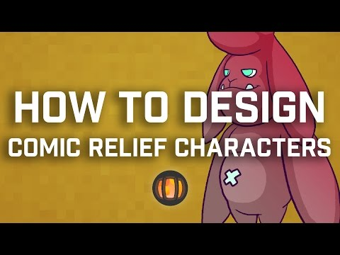 How To Design Comic Relief Characters