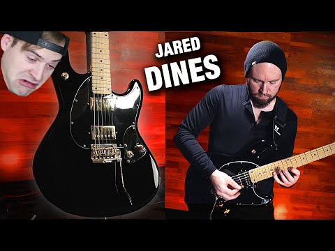 JARED DINES Signature Guitar SBMM StingRay Demo   GEAR GODS