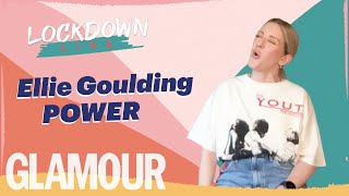Ellie Goulding Lockdown Live Acoustic Performance Of 'Power' | GLAMOUR
