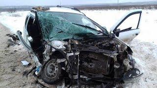ДТП 2019 и    АВАРИИ  ,  Февраль месяц подборка. Жесть на дорогах. Видеорегистратор с аварий.