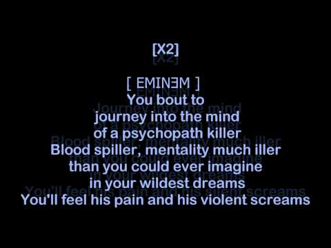 D12   American Psycho HQ & Lyrics