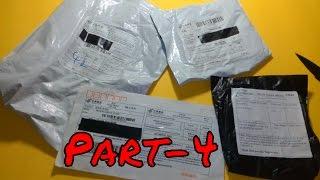 Aliexpress'ten Gelen Toplu Siparişlerim Paket Açılımı Unboxing Part-4 (Mask) (Alışveriş)