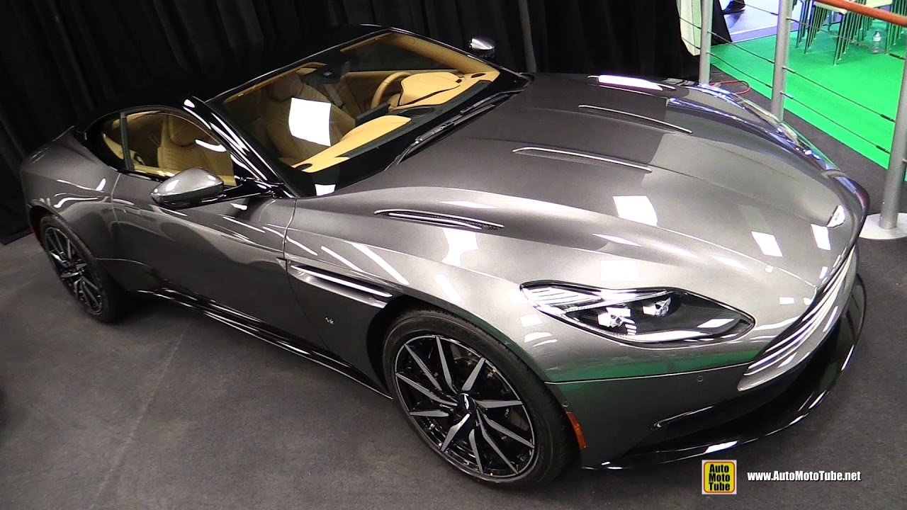 2017 aston martin db11 launch edition - exterior and interior