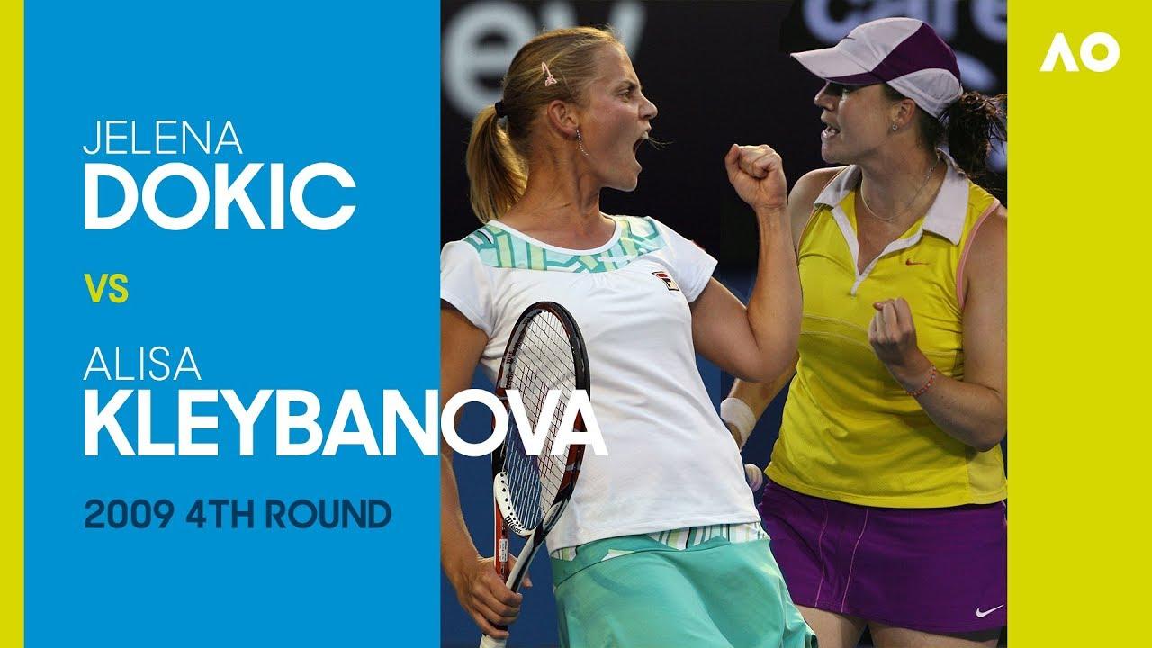 AO Classics: Jelena Dokic v Alisa Kleybanova (2009 4R)