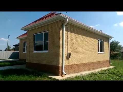 видео: Продам дом 90 м2 3 комнаты в ст. Пластуновской, рядом с Краснодаром
