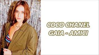 NUOVO INEDITO: Coco Chanel - Gaia Gozzi - testo e audio completo (AMICI 2020)