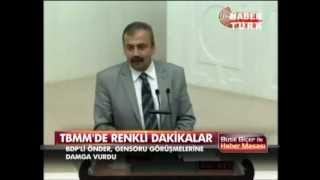 Sırrı Süreyya Önder Mecliste Aşk Başkadır....