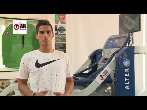 Pieros Soteriou for AlterG antigravity treadmill