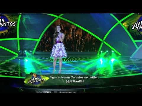 Programa Raul Gil - Tamy Klaus (Perfume a Tus Pies) - Jovens Talentos - #JT2013
