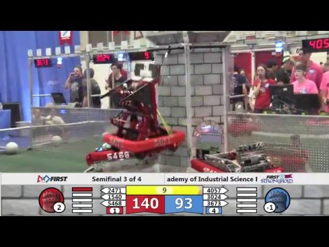 2016 PNW FRC Oregon City District Event Playoffs Semifinal 3