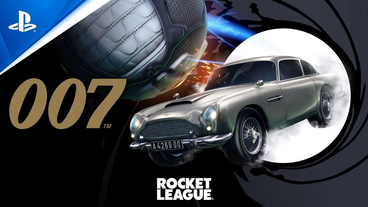 Rocket League | Aston Martin Джеймса Бонда | PS4